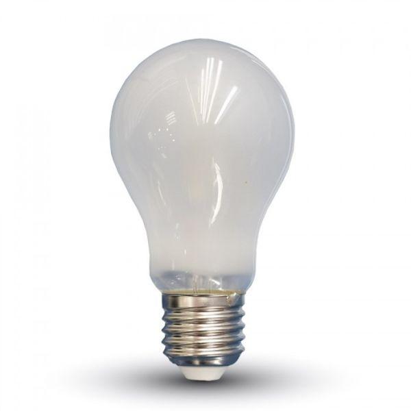 ampoule led e27 6w filament opaque eclairage design. Black Bedroom Furniture Sets. Home Design Ideas