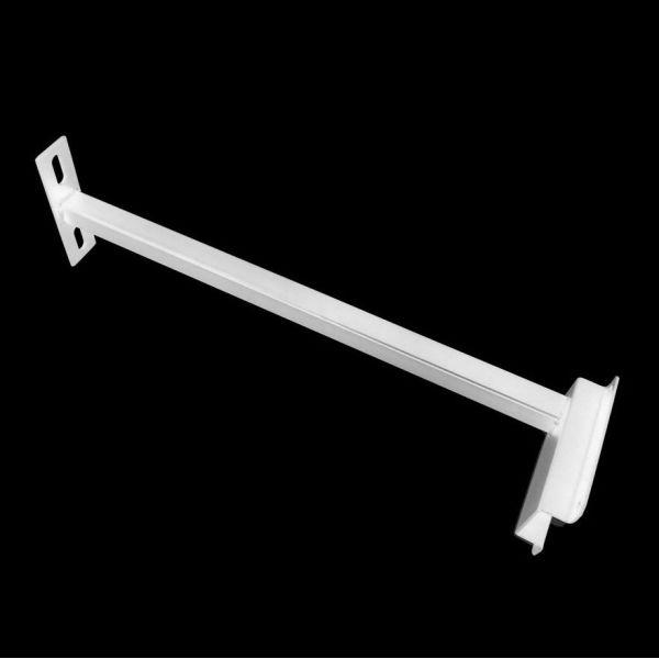 Potence pour projecteur 10/20/30 Watt blanc 40 cm