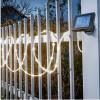 Cordon lumineux solaire blanc chaud à piquer ou suspendre