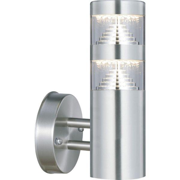 Se aplica el aumento de CASTELLANE de acero inoxidable LED de 900 Lúmenes