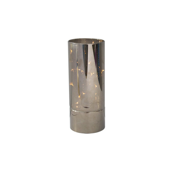 Vase Filament LEDS champagne 15 cm