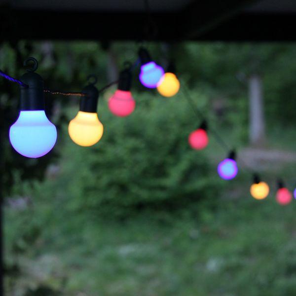 Ghirlanda di festa guinguette multicolore