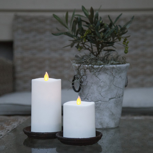 Bougie décorative led flamme oscillante