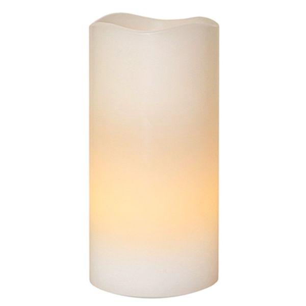 Bougie LED décorative 15 cm avec minuteur