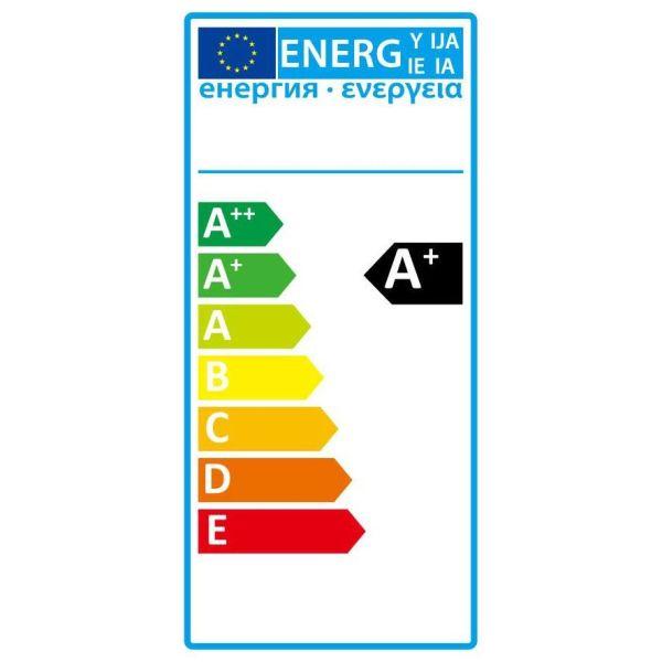 Ampoule E14 ambrée  LED Flamme filament 4W