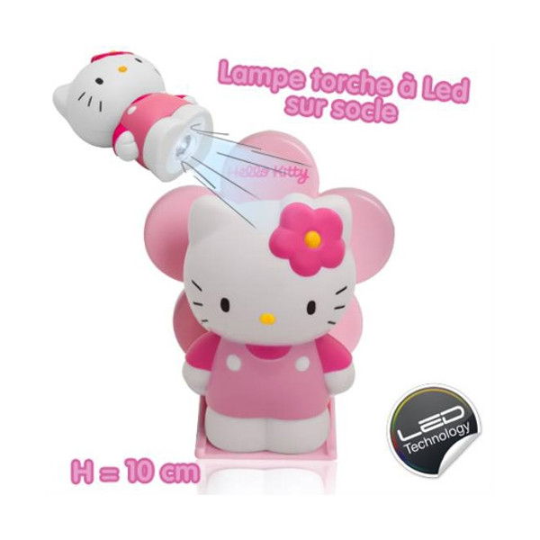 Lampe de poche led Hello Kitty