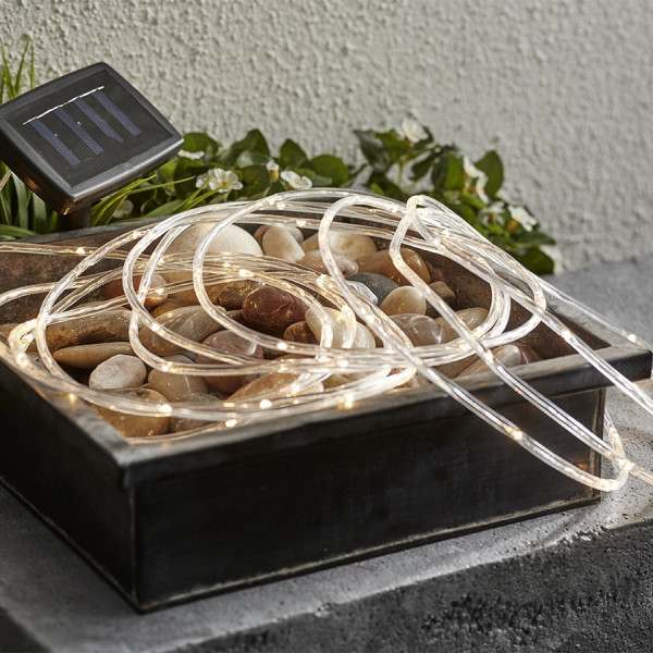 Guirlande solaire tube lumineux