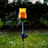 Décoration solaire LYON ambrée