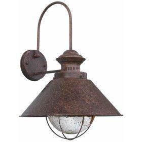NAUTICA-G Lampe applique rouille