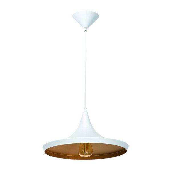 Lampe suspendu AVINI Blanc Doré