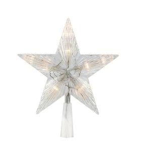 Cimier étoile LED animée Blanc chaud