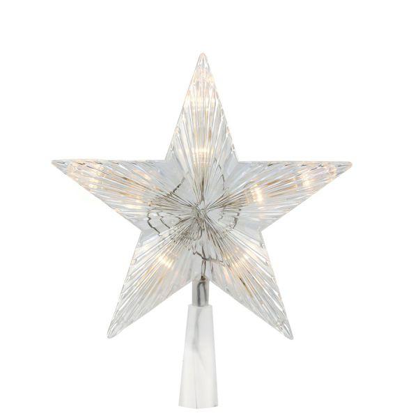 Escudo de la estrella LED animados Blanco cálido