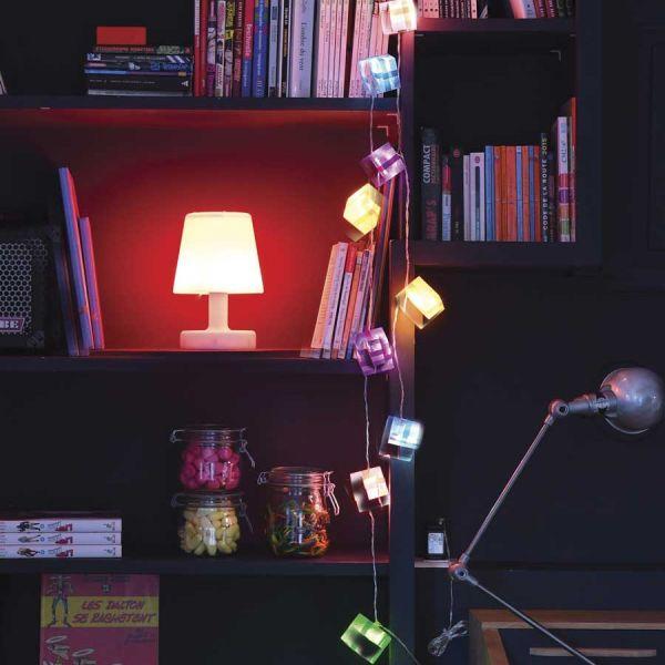 Guirlande LED de 10 Paquets cadeaux blanc chaud 2.5m