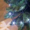 Grande guirlande flicker light 100 mètres 1000 LED blanc pur