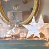 Déco Etoile Bois LED diamètre 35cm à piles