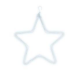 Motif lumineux étoile blanc pur LED