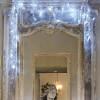 Guirlande feutrine LED flash blanc pur 1m80