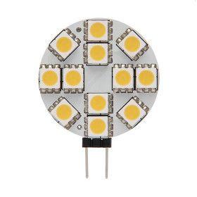 Ampoule G4 plate 1.5W 12VDC blanc chaud