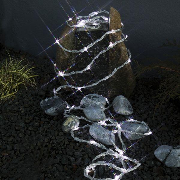 Guirlande LED Waterfall Blanc froid 6m IP44