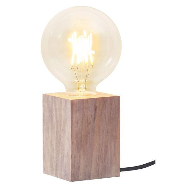 Lampe de table bois