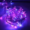 Guirlande flicker 128 led bleu et rose