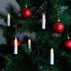 Guirlande 16 bougies LED pour sapin