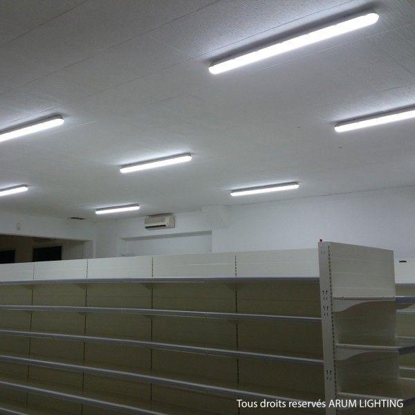 Boitier LED étanche 36W PC/PC 1200mm