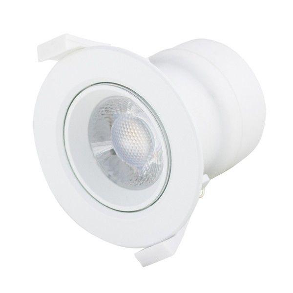 Spot LED 5W Encastrable orientable 350 Lm Eq 35W