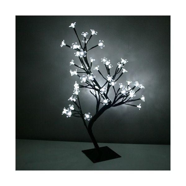 Cerisier lumineux 60cm blanc froid