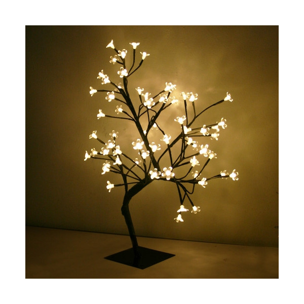 Cerisier lumineux 60cm blanc chaud