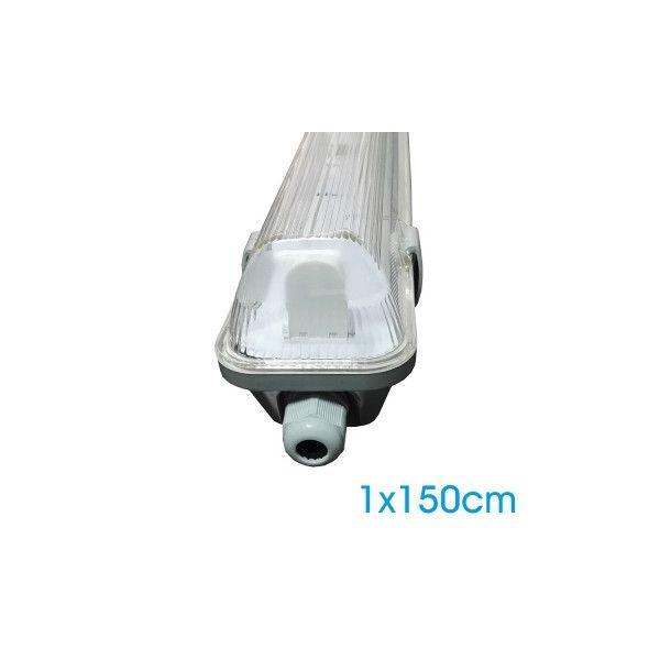 Boitier IP65 1m50 pour 1 Tube LED