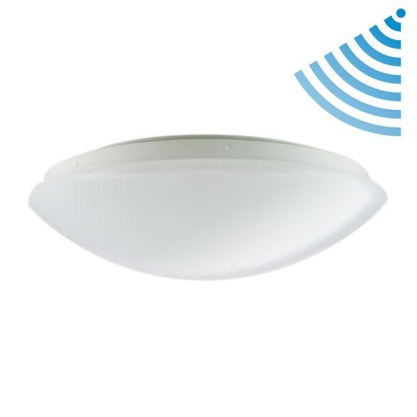 Gran ojo de buey LED de 360 mm de 18W 4000K detector de movimiento IP44