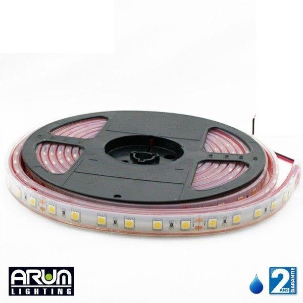 Rouleau de 5m ruban PRO 24V 5050 30LED /M RGB IP67