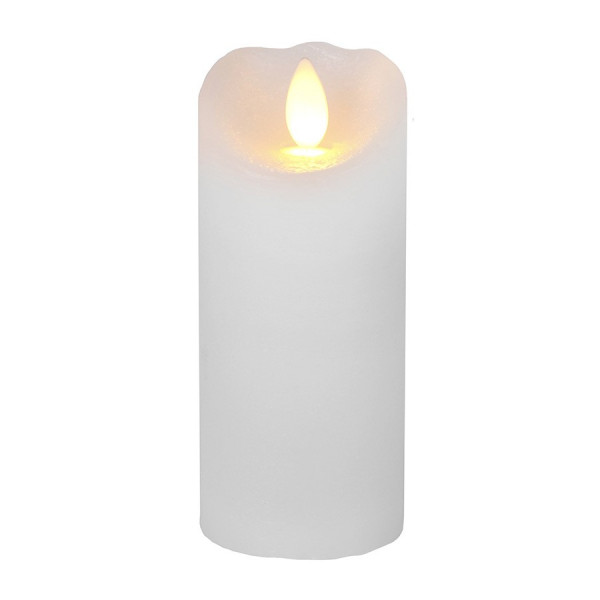 Bougie LED Cire GLOW Flamme vacillante 12.5cm