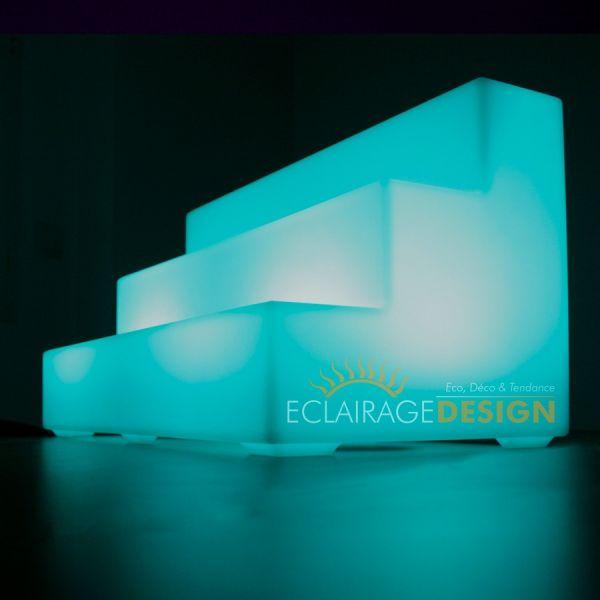 Lampe Support bouteille LED, luminaire extérieur résistant à l'eau rechargeable