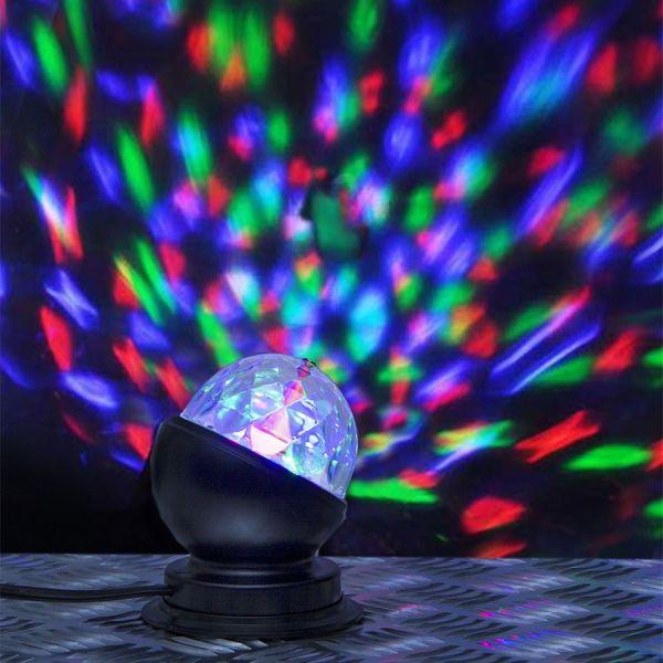 Lampe LED à poser disco party