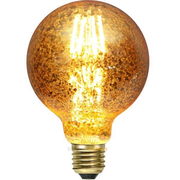 Ampoule tacheté filament décorative E27 Blanc chaud