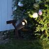 Lot de 2 spots solaire balisage blanc chaud