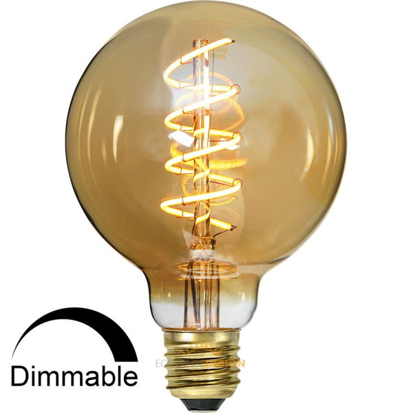 ampoule led e27 globe filament 3 8w dor dimmable. Black Bedroom Furniture Sets. Home Design Ideas