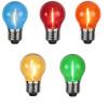 Lot de 5 ampoules E27 Filament LED couleur Guinguette