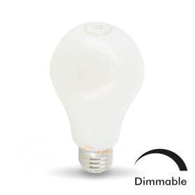Ampoule LED E27 10W Eq 75W MAT Dimmable En verre