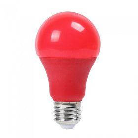 Ampoule LED E27 9W Rouge