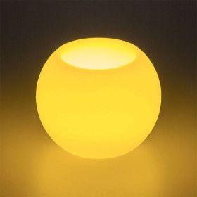 Bougie en cire LED Blanc chaud sur pile