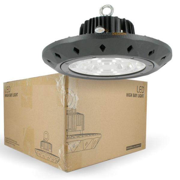 Gamelle suspension industrielle HIGH BAY UFO 200W IP65