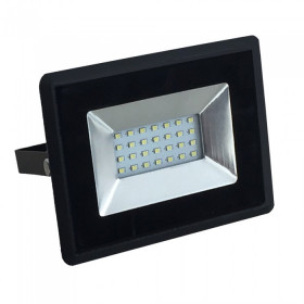 Projecteur LED 20W Noir IP65 Extérieur