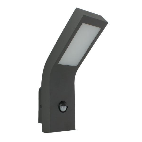 Applique LED DETECTEUR 10W CURVE 800Lm Eq 60W