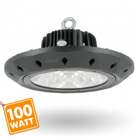 Gammelle suspension industrielle HIGH BAY UFO 100W IP65