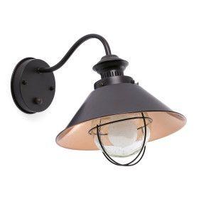Lampe applique NÁUTICA marron et cuivre