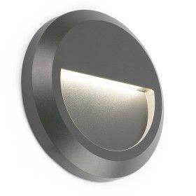 Lampe applique GRANT-R gris foncé