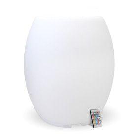 Tabouret lumineux LED multicolore ou fixe rechargeable